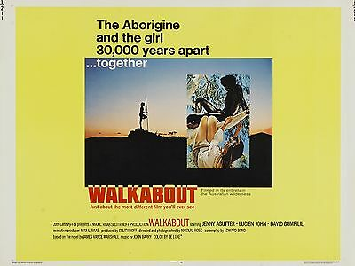 "Walkabout 16"" x 12"" Repro Movie Poster Photograph"