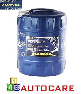 Mannol Defender 10W40 Semi-Synthetic Engine Oil 20 Litre
