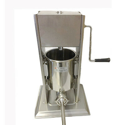 10 Litre Commercial Sausage Stuffer Stainless Steel Filler Maker Machine