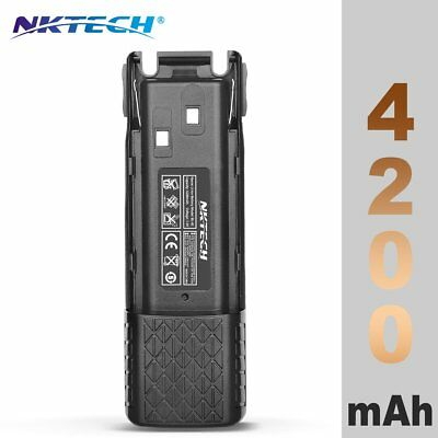 NKTECH BL-8C 4200mAh Extended Battery BaoFeng Pofung UV-82 UV-82L Two Way Radio
