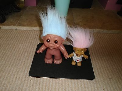 Vintage / Retro 1980's Dam Troll and Trollkins lifeguard