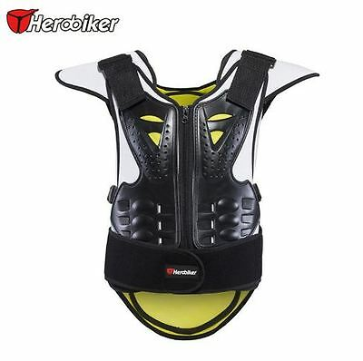New Padded Motocross Motorbike Armour with Back Protector