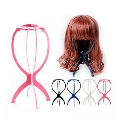 Stand Mannequin Folding Dummy Head Wig Display Hair Holder