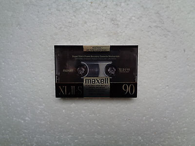 Vintage Audio Cassette MAXELL XLII-S 90 * Rare From UK 1988 * 1st Version