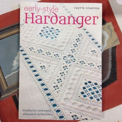 Embroidery Reference Book Early Style Hardanger Yvette Stanton Norwegian whitewk