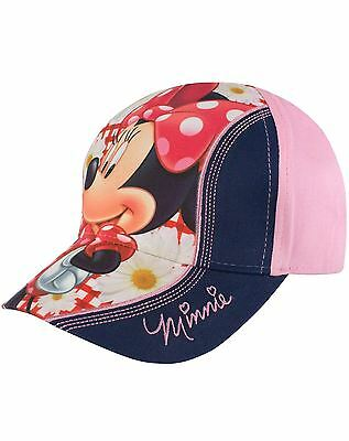 Minnie Mouse Velcro Cap