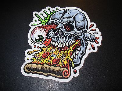 "JIMBO PHILLIPS Skate 5/"" Sticker GRIM REAPER skating skateboard helmets decal"