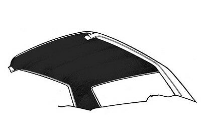 New! 1969-1970 FORD Mustang Headliner Fastback Black Moonskin Grain Mach 1 Boss