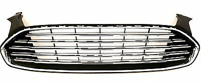 Chrome Upper Grille Assembly Replacement For 2013-2016 Ford Fusion #3-9