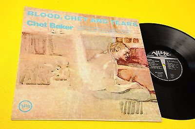 Chet Baker Lp Blood Chet And Tears Orig Italy 1970 Nm ! Laminated Cover Top Jazz