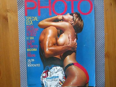 Magazine PHOTO #217 octobre 1985 special USA brooke shields nue madonna