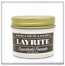 Layrite Super Hold Deluxe Pomade 4 oz
