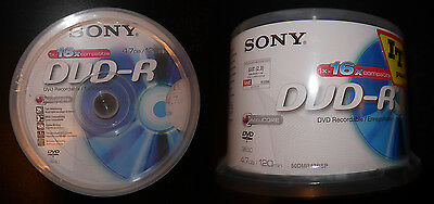 DVD-R Sony 4,7GB / 120mn - pack de 50