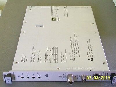 AGILENT HEWLETT PACKARD HP E1416A VXI modular power meter 436A series