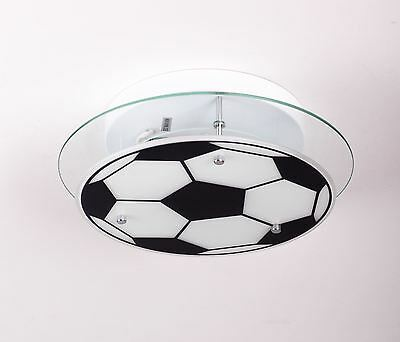 Football ceiling light for boys or girls kids bedroom or playroom