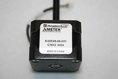 CNC Haydon Ametek K43K49-05-A01 Stepper Motor Linear Actuator Lead Screw and Nut
