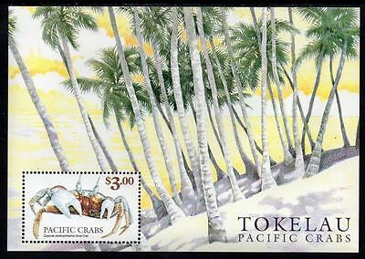Tokelau MNH 1999 Crabs of the Pacific Minisheet