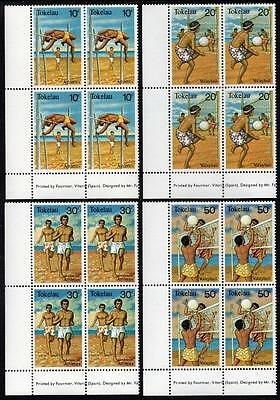 Tokelau MNH 1981 Sport Blocks