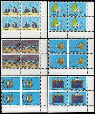 Tokelau MNH 1988 Political Development Blocks