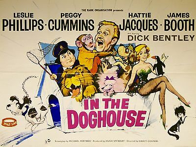 "In The Doghouse 16"" x 12"" Reproduction Movie Poster Photograph"
