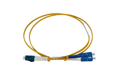 LC-SC OS2 DX Single Mode Fibre Patch Lead
