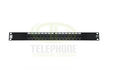"Cat 6 16 Port 19"" Patch Panel"