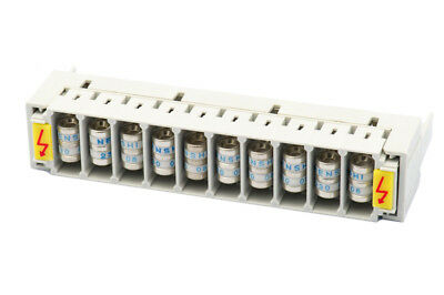 10 Pair Overvoltage Protection Magazine 3-terminal Arrester