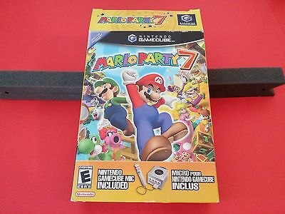 Mario Party 7 w/ Microphone [Box + Microphone Only] (Gamecube)