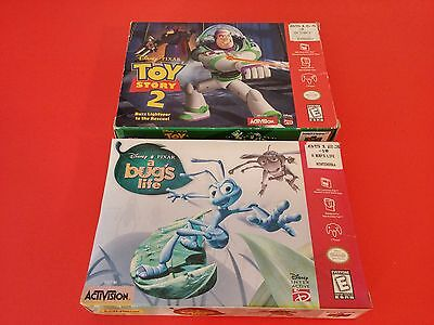 Bundle of 2 Boxes - A Bug's Life & Toy Story 2 [Box Only] (Nintendo 64 N64)