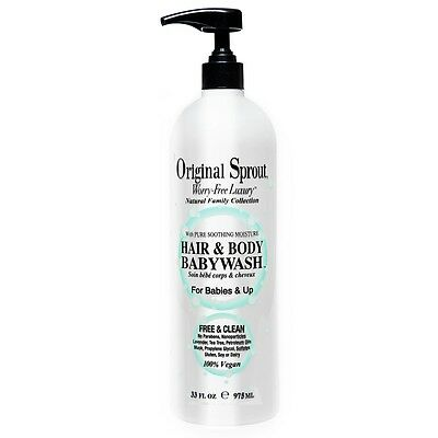 Original Sprout Hair and Body Baby Wash 33 fl oz.