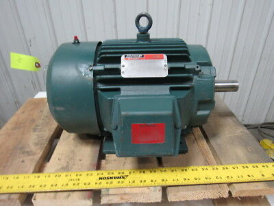 Reliance Electric 7.5HP Electric Motor 3PH 230/460V 1765 RPM L213T Frame