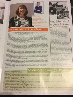 Amy Johnson Article From WES Magazine