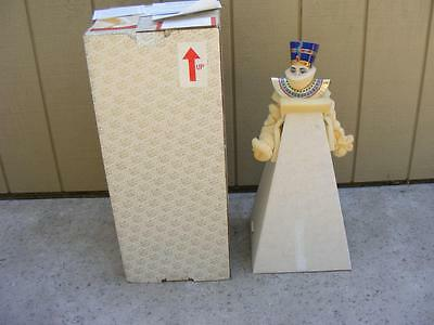 Franklin Heirloom Egyptian Queen Neferitti Doll Never Displayed