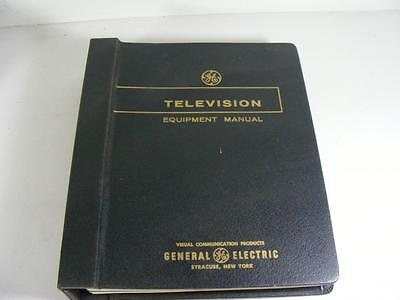 1963 64 65 General Electric Equipment Manual Television Audio Video
