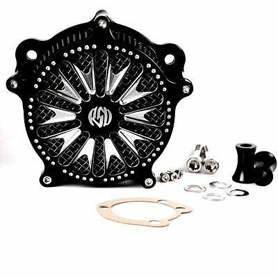 Deep Cut Venturi Air Cleaner Intake Filter System For Harley 99-16 Dyna Softail