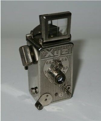 USED XYZ 12x14mm subminiature vintage camera made in France