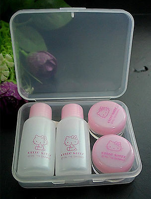 NEW Genuine HelloKitty Contact Lens Case Soak Storage Cosmetic Box 4517032315614