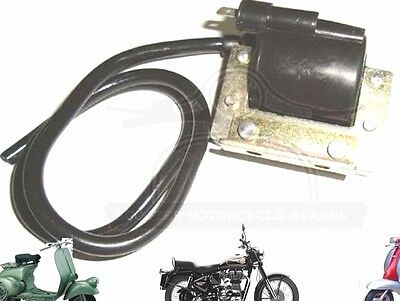 Lambretta Li 150 175 Gp Sx Tv Main Coil Ignition Coil 6 Volt @aud