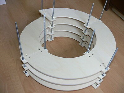Spiral 3,5 Levels for track Z on CNC Machine perfect fit made
