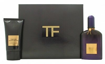 Tom Ford Velvet Orchid Gift Set 50Ml Edp + 75Ml Hydrating Emulsion - Women's