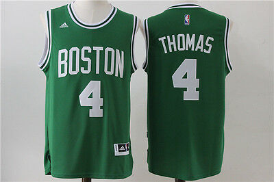 New Boston Celtics #4 Isaiah Thomas Swingman Basketball Jersey Green