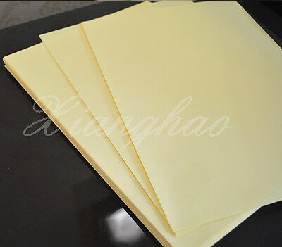 45 Sheets A4 Clear Transparent Film Adhesive Sticker Paper Laser Printer