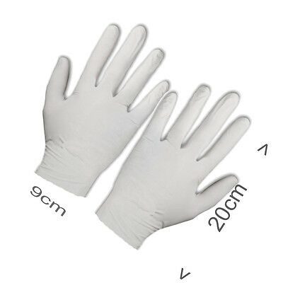 Synthetic nylon White hygiene Inspection Glove Protection Gloves Nail Salon home