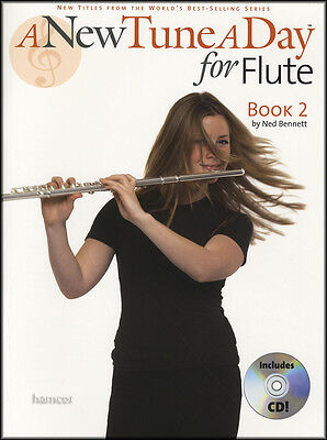 A New Tune A Day for Flute Book 2 Music Book/CD Learn How to Play Method