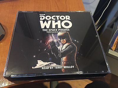 DOCTOR DR WHO BBC CLASSIC NOVELS AUDIO CDs - THE SPACE PIRATES