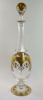 BACCARAT Crystal - PRESTIGE Gold - Decanter / Decanters - 17 1/2""