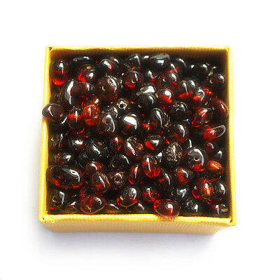 Baltic amber loose beads 10 gr cherry