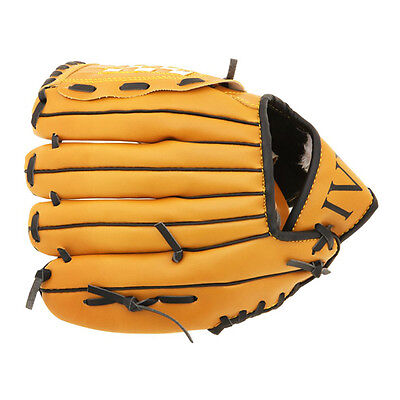 P12772 Baseball glove For pitcher Soft type For throwing right Brown (10.5 inch)