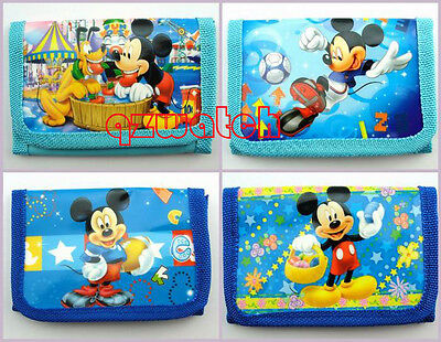 Wholesale  Mickey Mouse Cartoon Children Coin Cartoon Purses Wallets bags Gifts