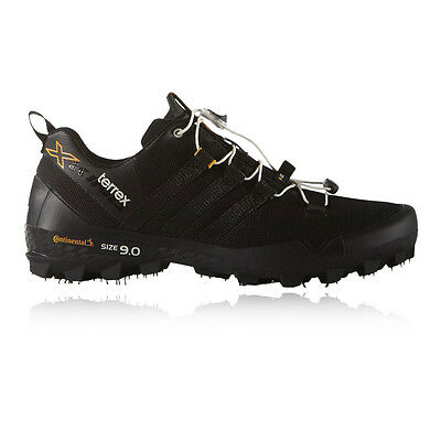 Adidas Terrex X King Mens Black Trail Running Gym Sports Shoes Trainers